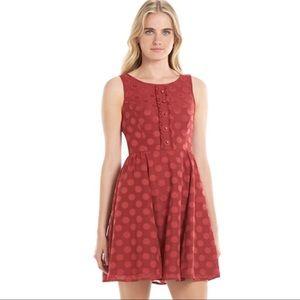 Disney LC Red Polka Dot Minnie Mouse Dress